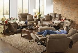 catnapper collinpower lay flat reclining sofa