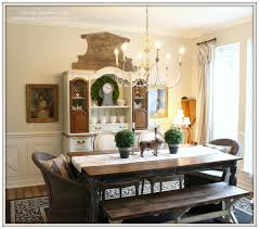 country dining rooms. Farmhouse-Planked Table-French Chandleier-French Country Dining Room- From My Front Rooms C