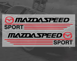 mazdaspeed emblem. mazda speed sport car mirror stickers decal logo emblem mazdaspeed