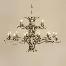 penn brushed brass 18 light chandelier interiors 1900