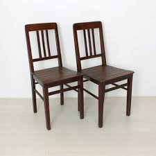 Image Folding Chairs Vintage Wooden Chairs 1920s Set Of Pamono Vintage Wooden Chairs 1920s Set Of For Sale At Pamono