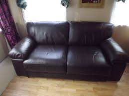 after leather sofa