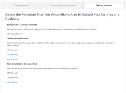 Listing Template Awesome Ebay Tips How To List Faster With Ebay Bulk Listing Solutions