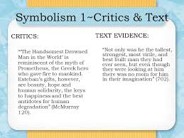 """the handsomest drowned man in the world ppt video online  21 symbolism 1~critics text """" the handsomest drowned man"""