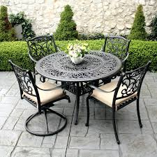 white metal patio chairs. Patio Ideas: White Cast Iron Furniture Add Elegance To Any Exterior Living Space With Metal Chairs