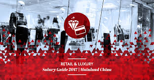 retails luxury salary guide