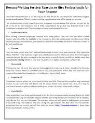 Resume Suggestion Resume Writing