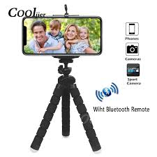 COOLJIER <b>Flexible Sponge</b> Octopus <b>Mini</b> Tripod With Bluetooth ...