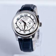 louis bolle watch louis bolle men s automatic day date leather strap white dial watch