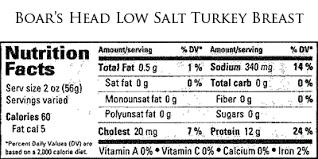 boar s head low salt turkey t