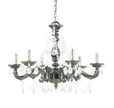 white shabby chic chandelier mini wood