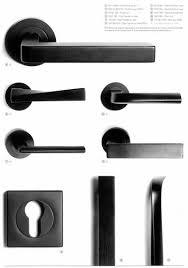 black door hardware. 1 pittella black opaque range - door handles products architectural hardware e