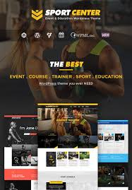 Event Website Template Classy Best Sport Fitness WordPress Themes HTML Templates Envato Forums