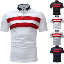 Design Work Polo Shirts Us 7 17 25 Off Klv 2019 New Summer Polo Hommes Diagonal Stripes Printing Polo Shirts Mens Brands Size S 2xl Black Gray Navy White In Polo From Mens