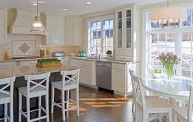 french doors in kitchen.  French Bright Kitchen Addition Jenkintown PA Intended French Doors In