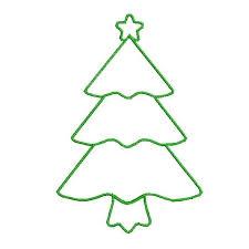 Christmas Tree Applique DesignsChristmas Tree Outline Clip Art
