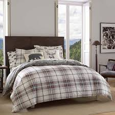 ed bauer alder plaid charcoal duvet cover set jcpenney in covers plans 9