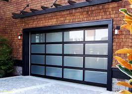 modern garage door fresh inspirational aluminum glass garage doors s home design ideas