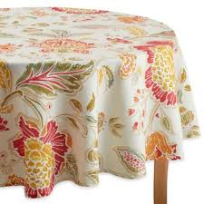 tablecloths for umbrella tables from bed bath beyond within 70 inch round tablecloth decorations 2