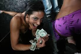 Big booty ebony strippers eating pussy
