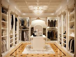 Luxury Walk In Closet Walk In Closet In Classic Style Luxurious Idfdesign
