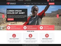How To Design A Charity Website Vw Charity Ngo Wordpress Theme Wordpress Org