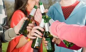 Ответственность за употребление несовершеннолетними алкогольных  В