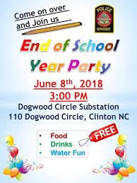 Expire after three years either in march or sept. Clinton Police Department Nc Cpd Is Going To Have An End Of School Year Party At Our Dogwood Substation See Flyer For Details Party Is Open To The Housing Residents And