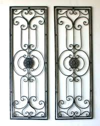 tuscan wall decor metal wall decor inspirations art cozy large scrolling wrought iron grille set discover  on discover tuscan metal wall art decorating ideas with tuscan wall decor wall art ideas design boom continue decor applied