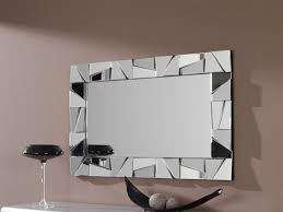 modern decorative wall mirrors mirror ideas full length stainless steel lights wood treatments white shelves ic