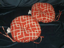 round bistro outdoor seat cushions