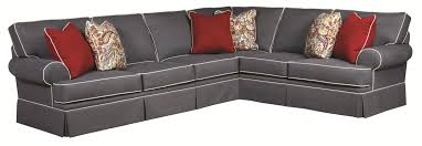 Broyhill Furniture Emily Traditional 3 Piece Sectional Sofa with