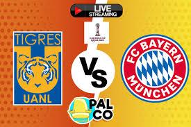 Ver partido en vivo Tigres vs Bayern Munich, Final Mundial de Clubes 2020  hoy jueves 11 de febrero online