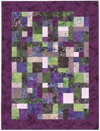 YELLOW BRICK ROAD PATTERN | Quilts | Pinterest | Yellow brick road ... & YELLOW BRICK ROAD PATTERN - in purple tones--This is a perfect beginners  pattern if you are thinking about giving quilting a try. Adamdwight.com