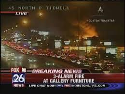 Gallery Furniture Fire KRIV Houston Fox 26