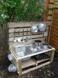 30 Kids Outdoor Mud Kitchen Ideas 1001 Gardens Outdoor Play Kitchen Diy Mud Kitchen Mud Kitchen For Kids