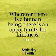 Quotes About Being Kind Delectable Seneca On Being Kind Spirituality Health