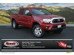2014 Barcelona Red Metallic Toyota Tacoma V6 TRD Double Cab 4x4 ...