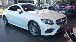 Standard amg styling sharpens the fresh looks. 2017 Mercedes E Class Coupe Full Review 2018 Interior Exterior Infotainment System E200 Amg Package Youtube