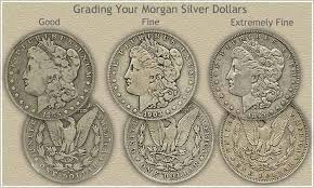 Morgan Silver Dollar Grading Coins Silver Dollar Coin