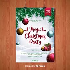 Work Christmas Party Flyers Christmas Flyer Vectors Photos And Psd Files Free Download