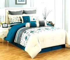 brown and white bedding sets turquoise comforter set twin bedspread teal