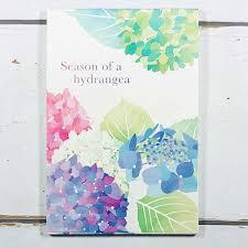 楽天市場はがき箋 紫陽花 フロンティア 初夏柄 夏柄 花柄 和柄 和風
