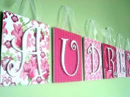 nursery wall letters how
