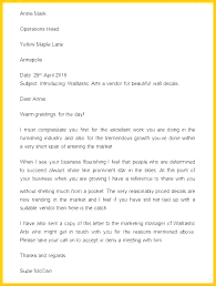 Formal Business Email Template