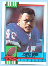 Leonard Smith 1990 Topps #194 - Buffalo Bills at Amazon's Sports  Collectibles Store