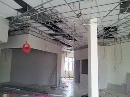 installing plaster ceiling frame by interior kami source