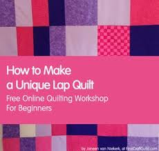 How to Make a Lap Quilt - Quilting Class for Beginners #11 & how to make unique lap quilt :: free online quilting course for beginners :: Adamdwight.com