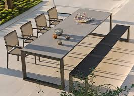 modern outdoor table and chairs. Manutti Fuse Garden Table Modern Outdoor And Chairs
