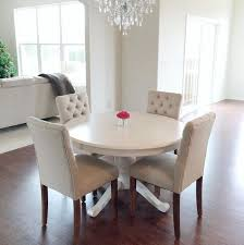 white dining room chairs round table sets 12077 in set inspirations 19
